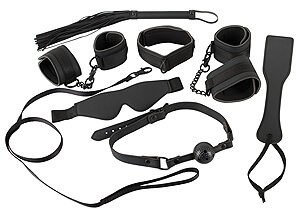 Bad Kitty Restraint Set, veľká bondážna + BDSM + fetiš sada