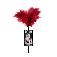 Guilty Pleasure Small Feather Tickler Red